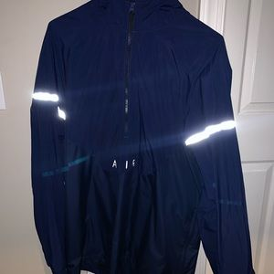 Nike Air Anorak Jacket Windbreaker Jacket Navy-XXL
